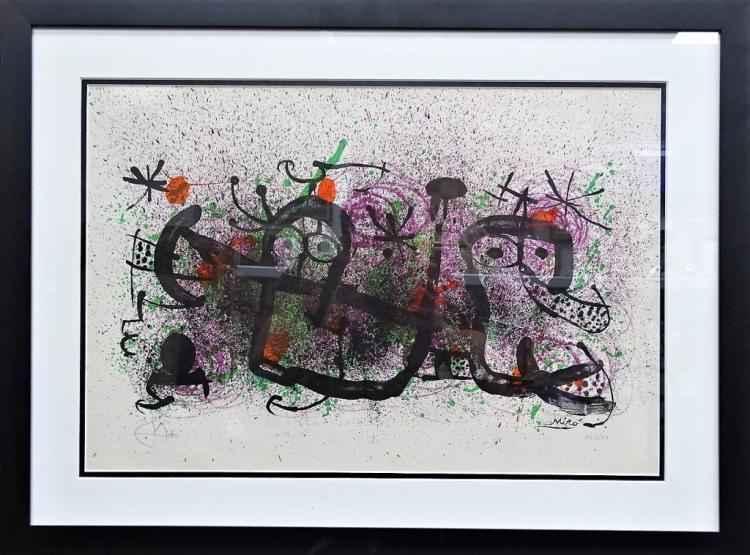 Ma de Proverbis by  Joan Miro - Masterpiece Online