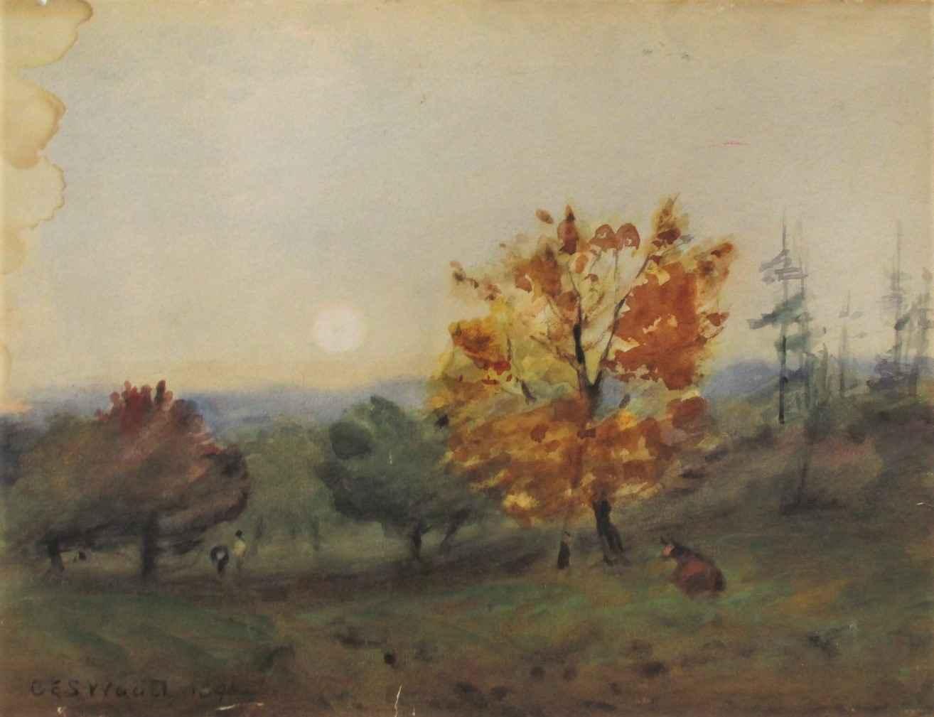 Unknown (meadow) by  Charles Erskine Scott Wood - Masterpiece Online
