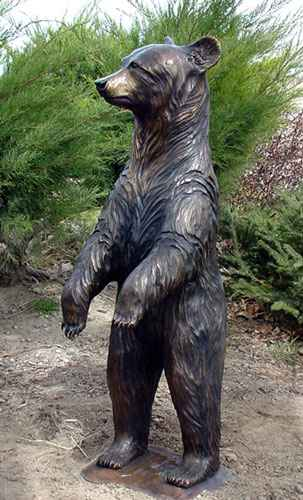 Black Bear - Standing... by  Danny D. Edwards - Masterpiece Online