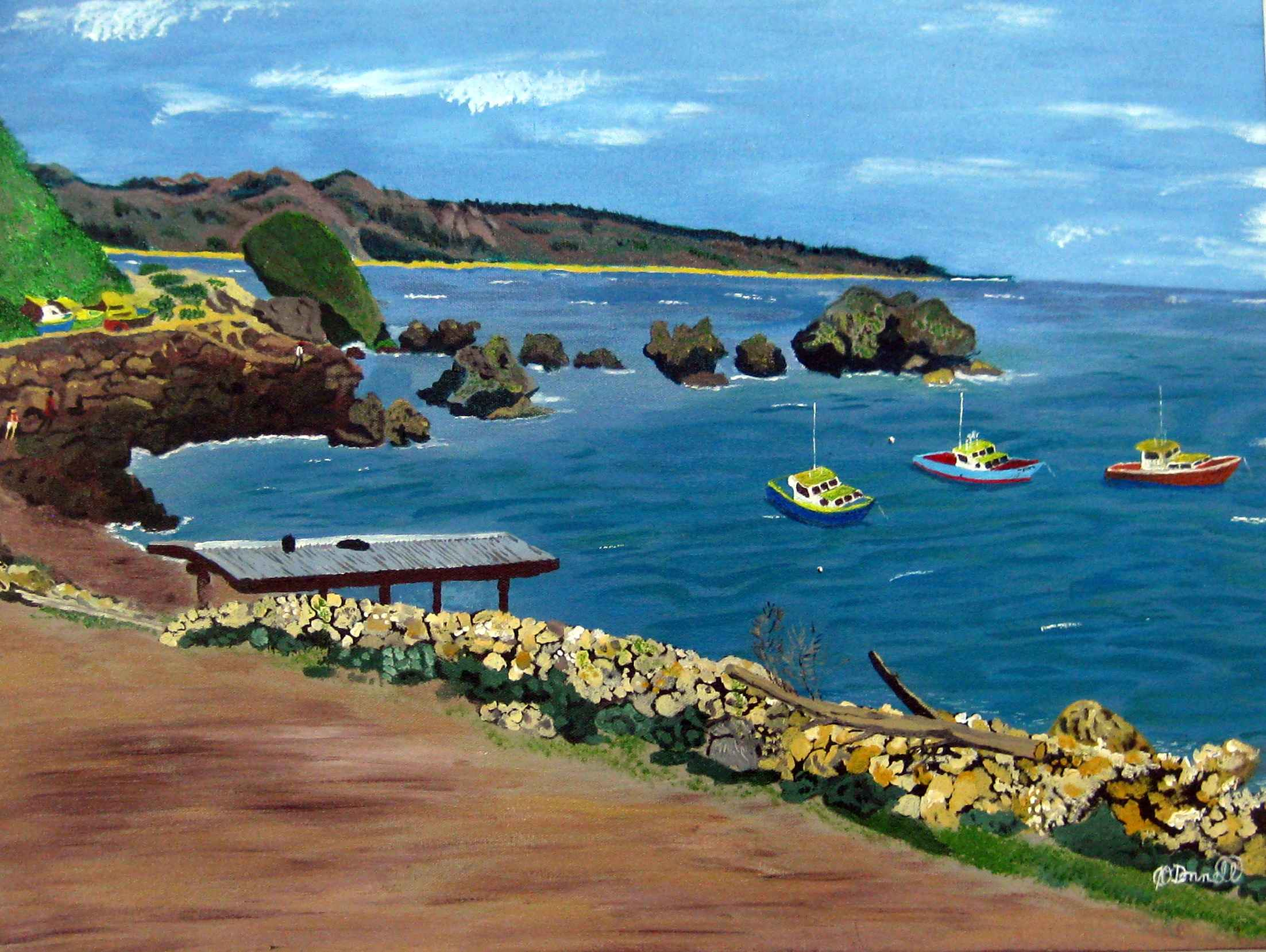Tent Bay, St. Joseph by Mr Christopher O'Donnell - Masterpiece Online