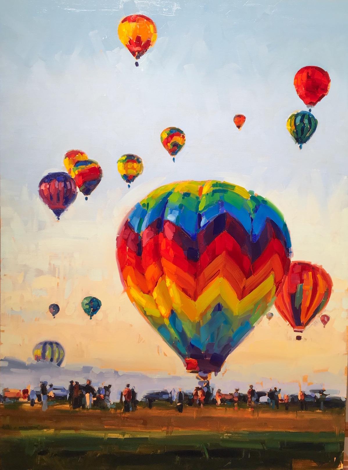 Hot Air Balloons #2 by Mr. Santiago Michalek - Masterpiece Online