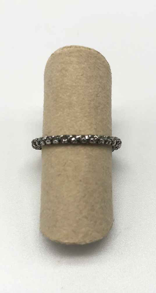 Twine Silver Ring - Size 5
