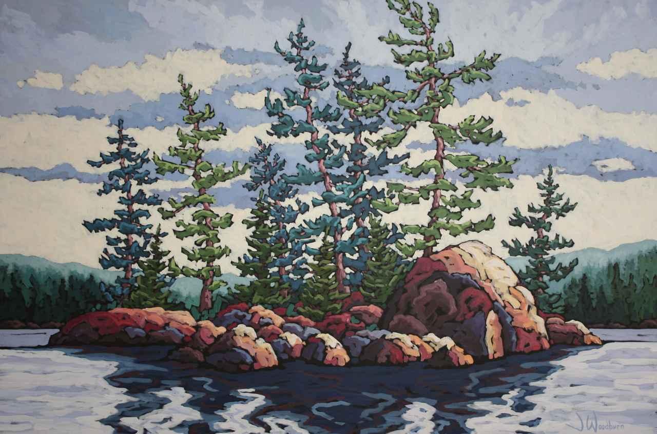 Heart Of The Lake by Ms Jennifer Woodburn - Masterpiece Online