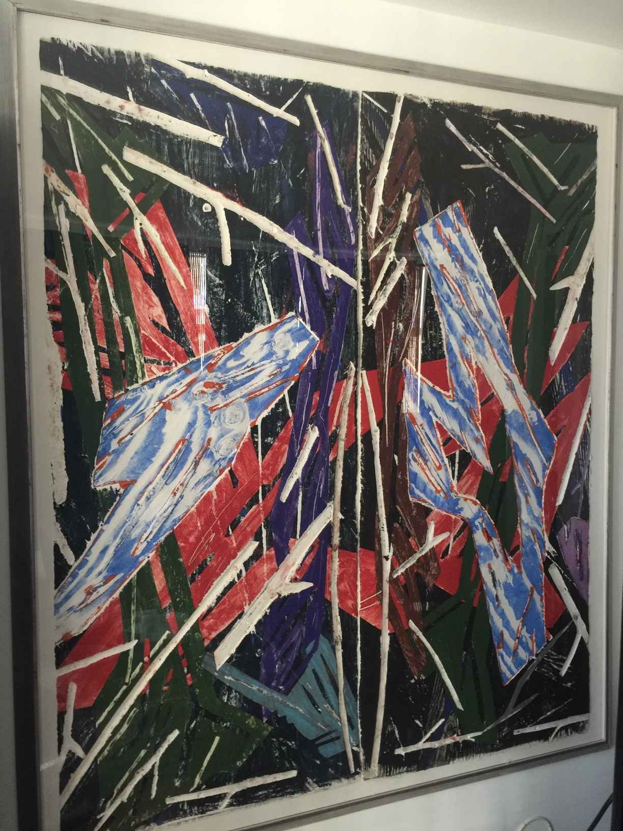 Untitled (diptych) by  Charles Arnoldi - Masterpiece Online