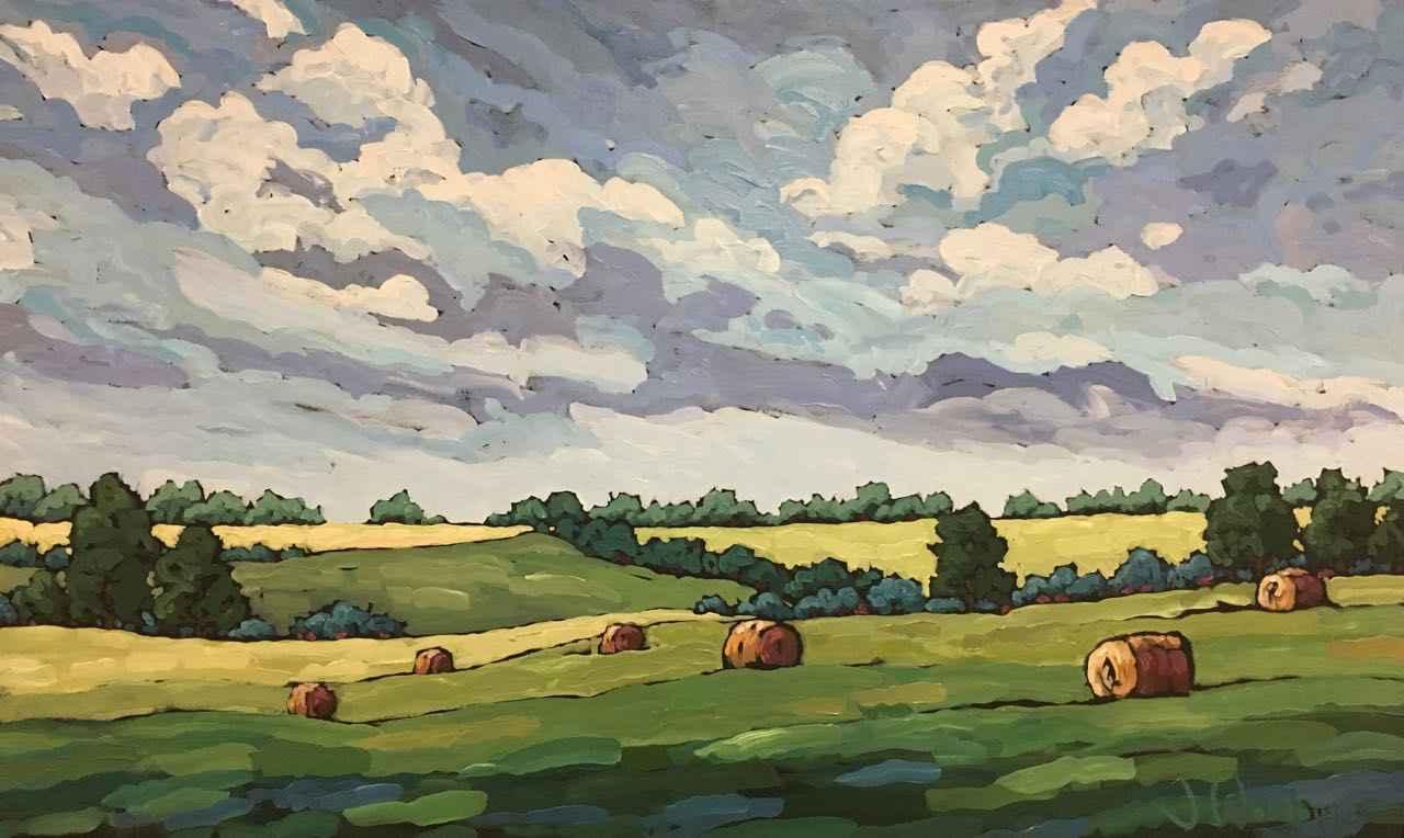 Back Roads & Big Skies by Ms Jennifer Woodburn - Masterpiece Online