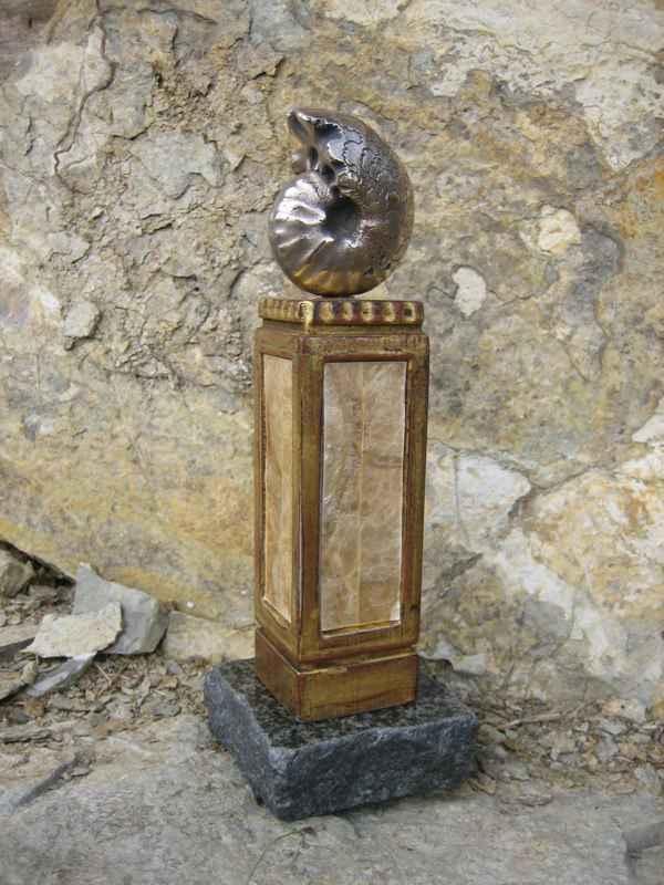Ammonite Potrait - Br... by  George Barnhill - Masterpiece Online