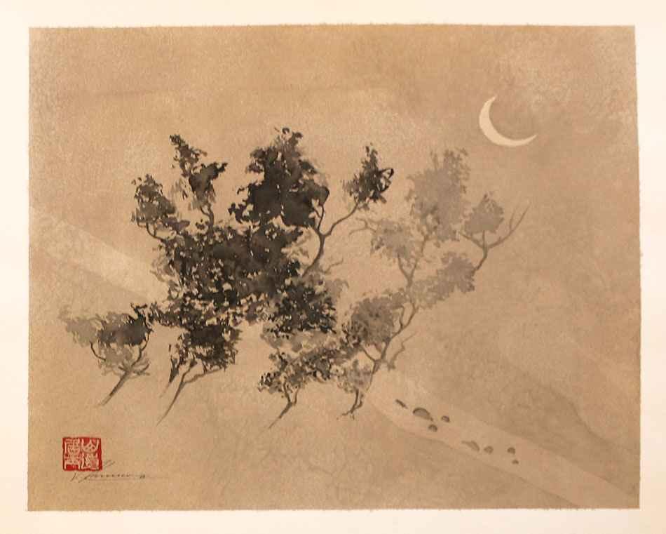 Sumi Kaiga by  Walther Von Krenner - Masterpiece Online