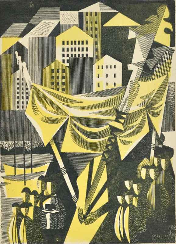 Camogli  by  Bernard Brussel-Smith (1914-1989)
