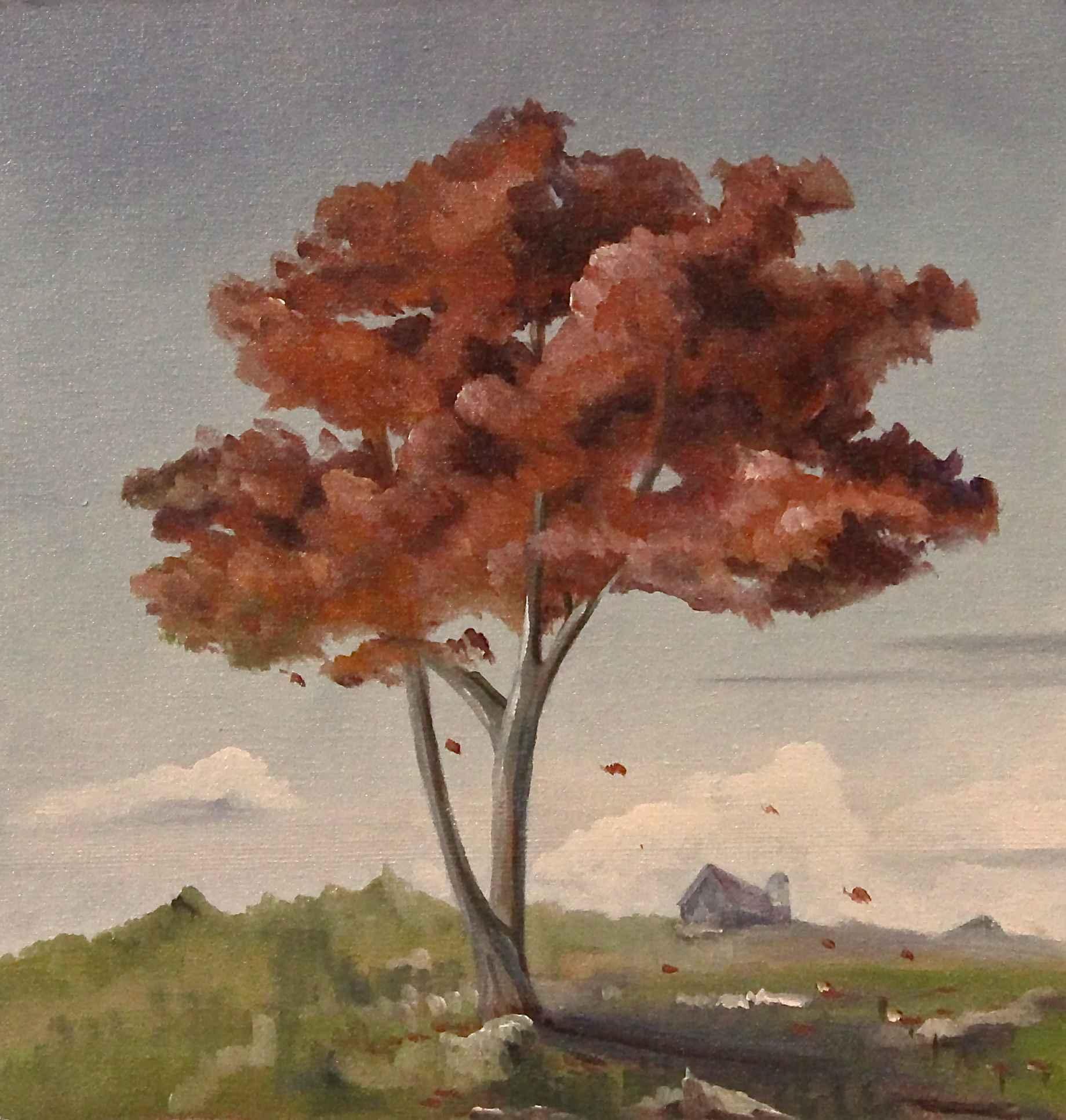 Lone Tree (Study) by  Steve Bowersock - Masterpiece Online