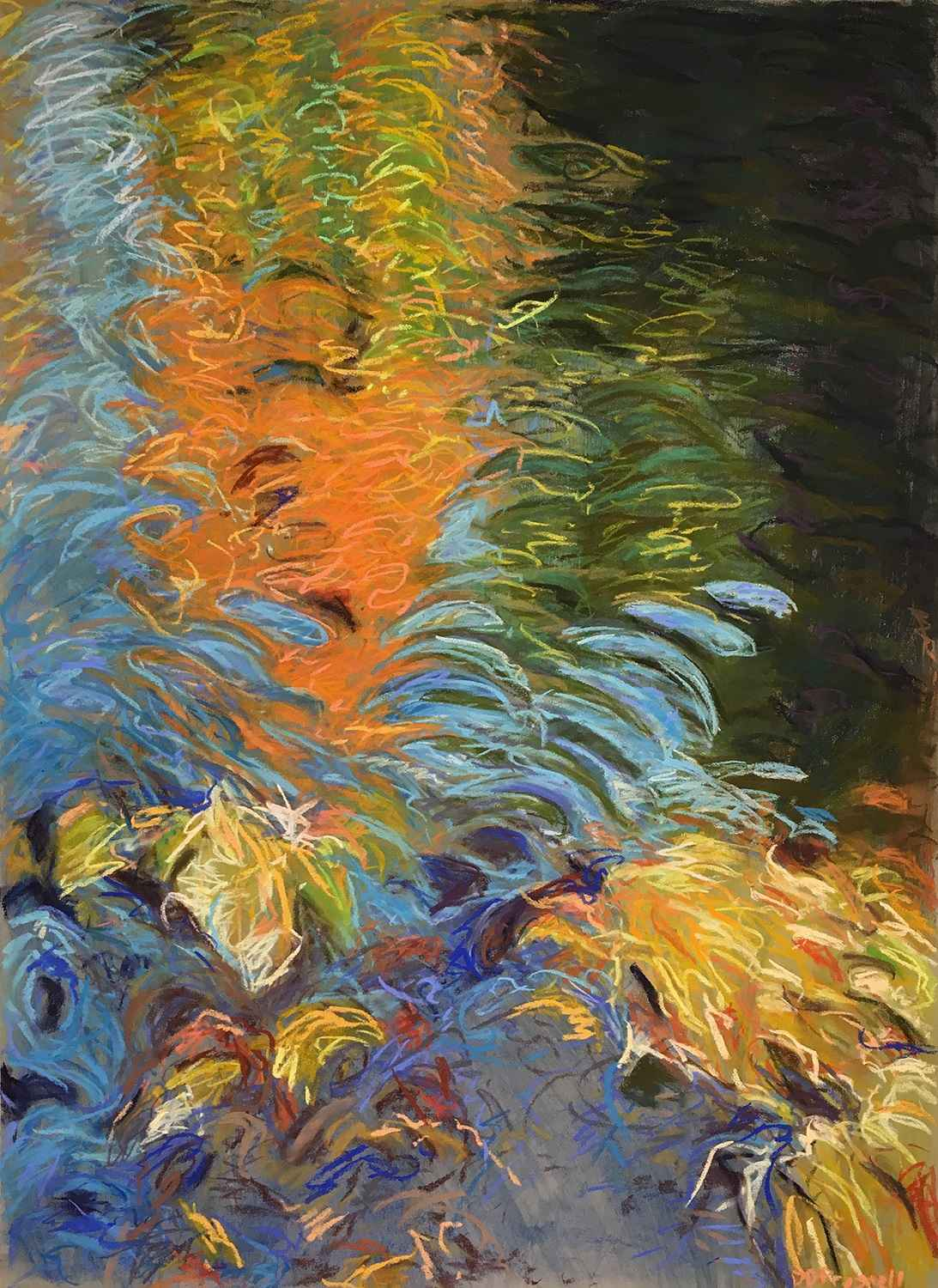 Absurd Ripples by  Denise Presnell - Masterpiece Online