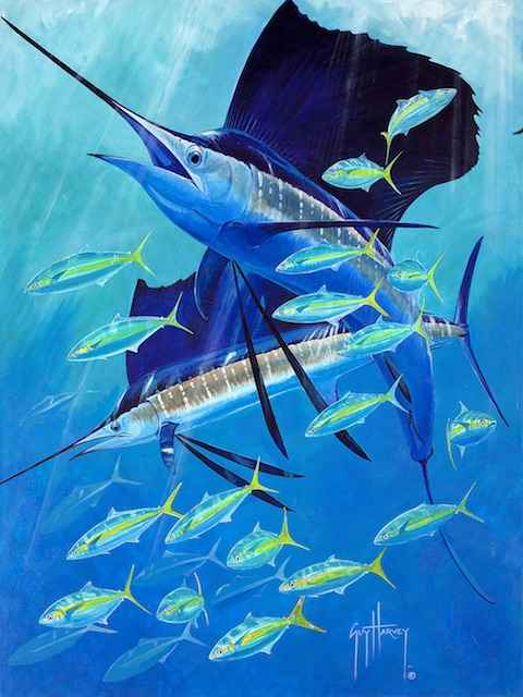 Sail-Away by  Guy Harvey - Masterpiece Online