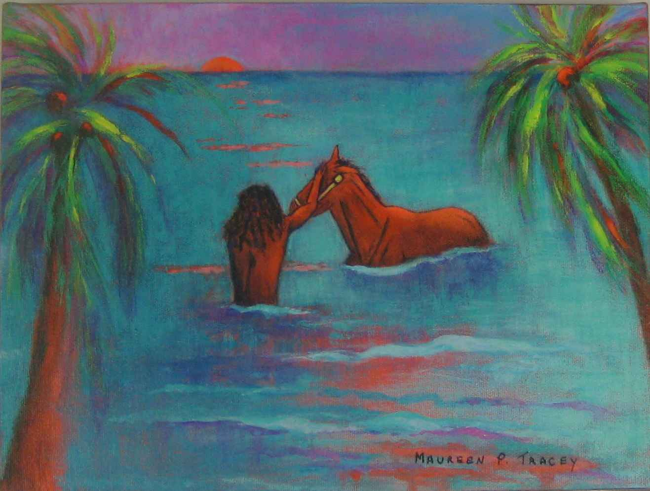 Early Morning Exercise by Ms Maureen Tracey - Masterpiece Online