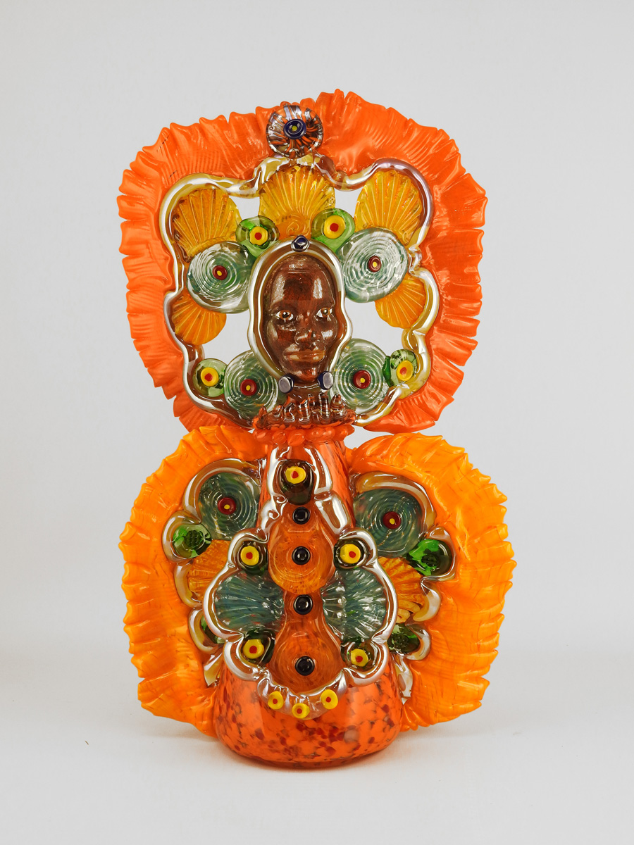 Orange Mardi Gras Ind... by  Teri Walker - Masterpiece Online