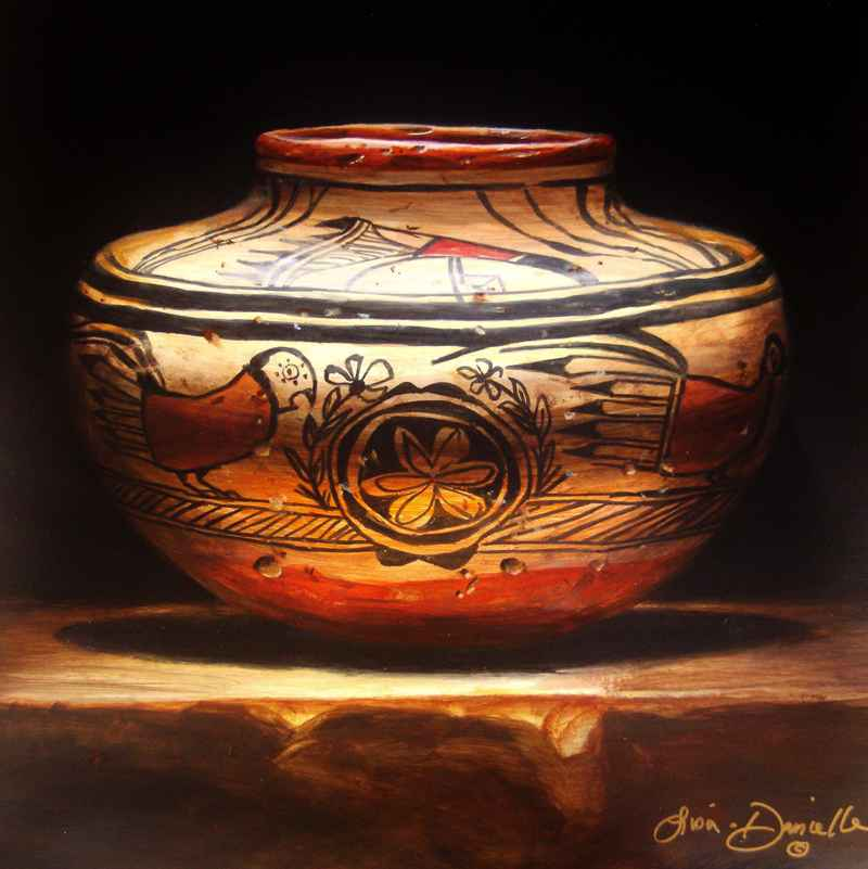 Hen-Pecked Hopi  by  Lisa Danielle