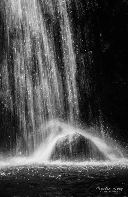 Waterfall & Rocks by  Martin Keey - Masterpiece Online