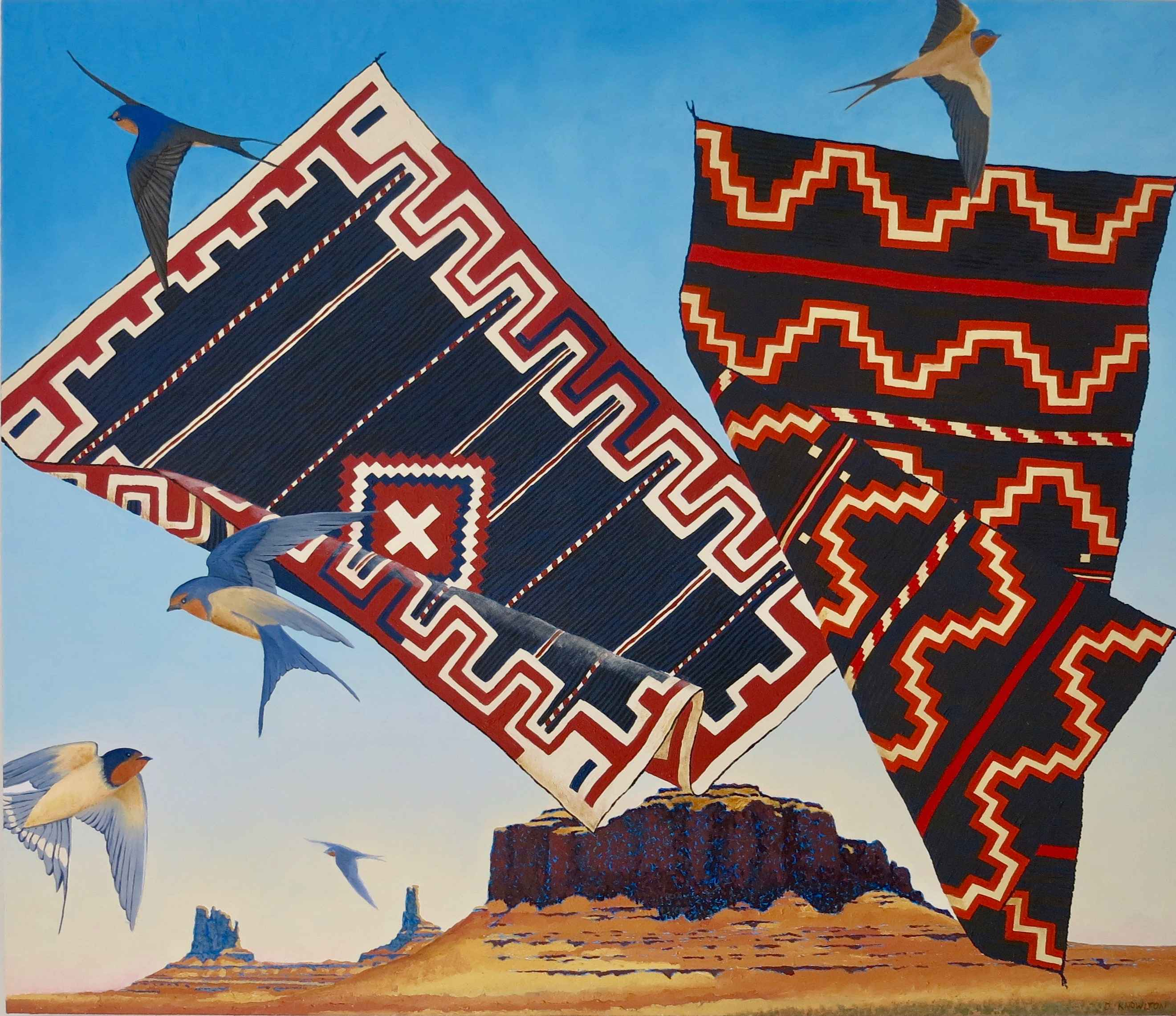 Five Swallows by  David Knowlton - Masterpiece Online