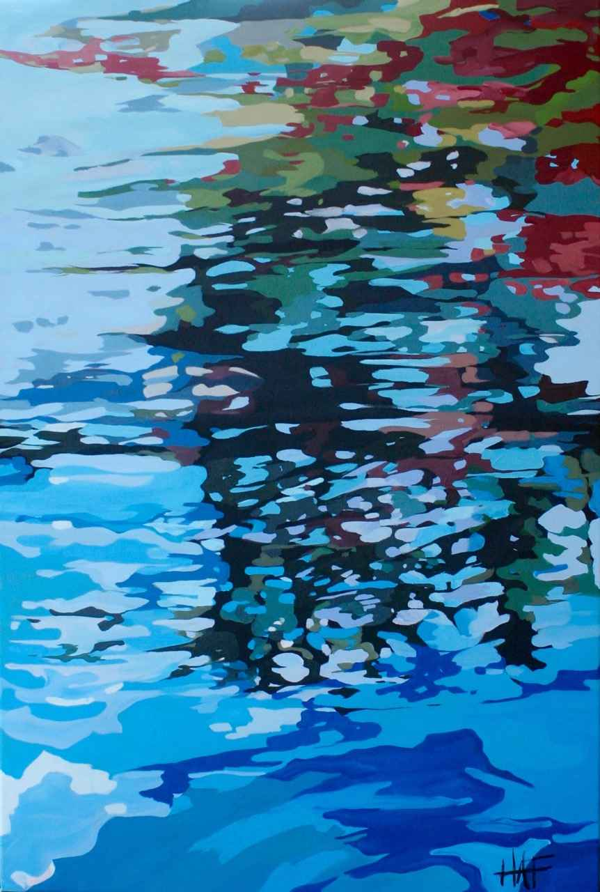Reflections 2 Series 2 by  Holly Ann Friesen - Masterpiece Online