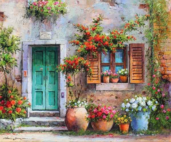 The Main Door by  Soon Ju Choi  - Masterpiece Online