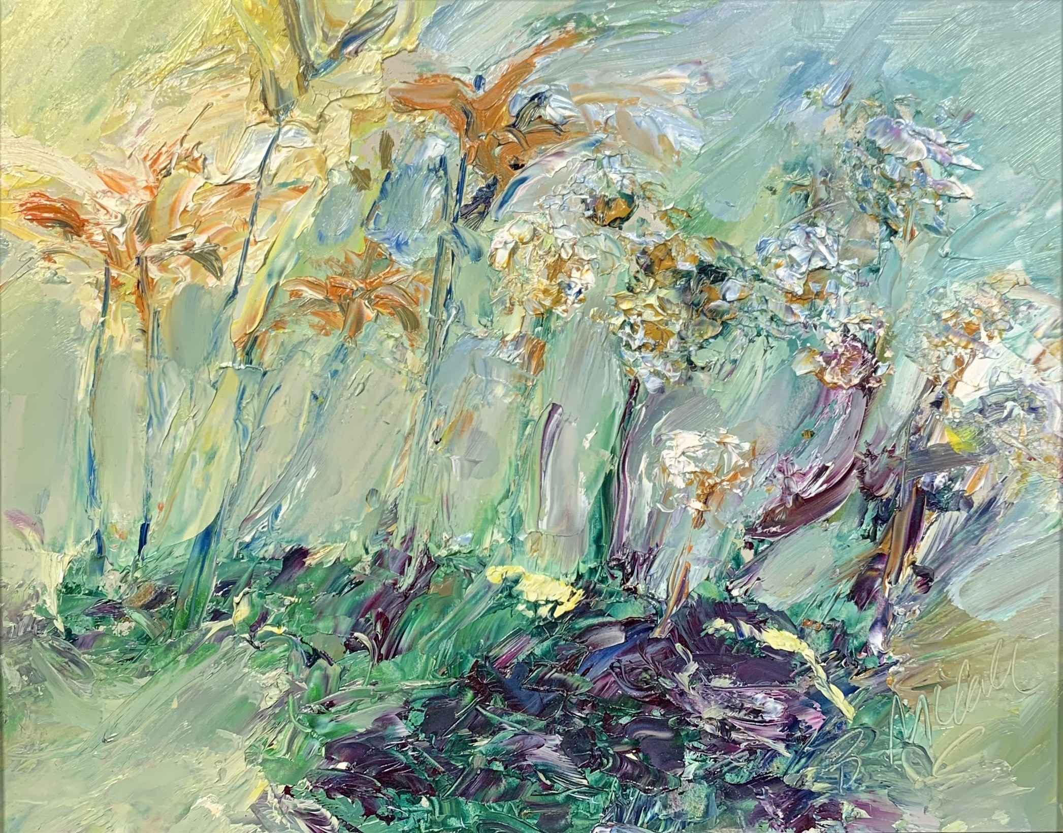 Tiger Lilies and Wint... by  Bill McCall - Masterpiece Online