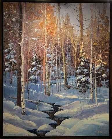 Winter Within by  Trey McCarley - Masterpiece Online