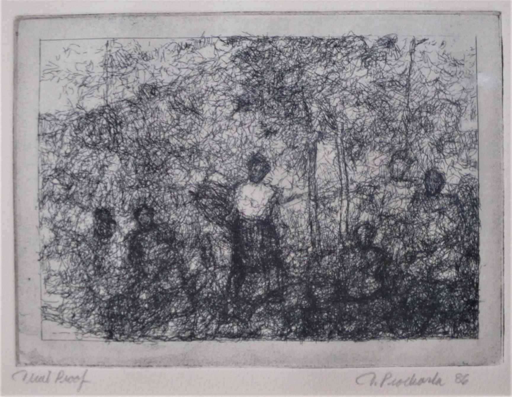 Untitled (people in a... by  Thomas Prochaska - Masterpiece Online