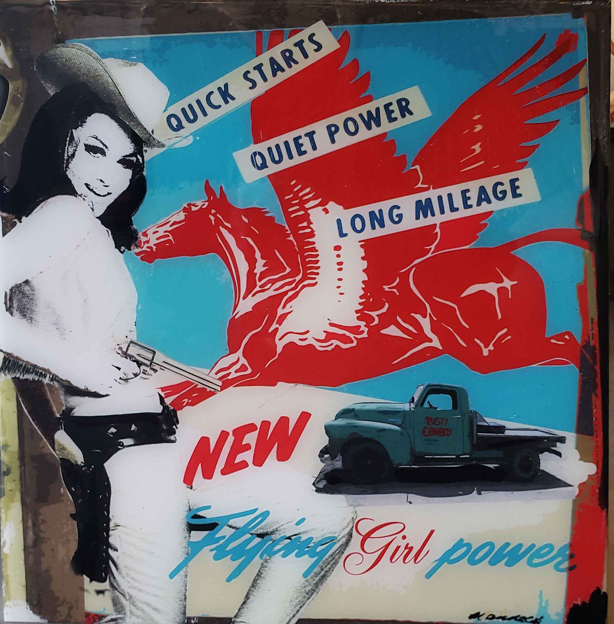 Girl Power  by  Holly Manneck