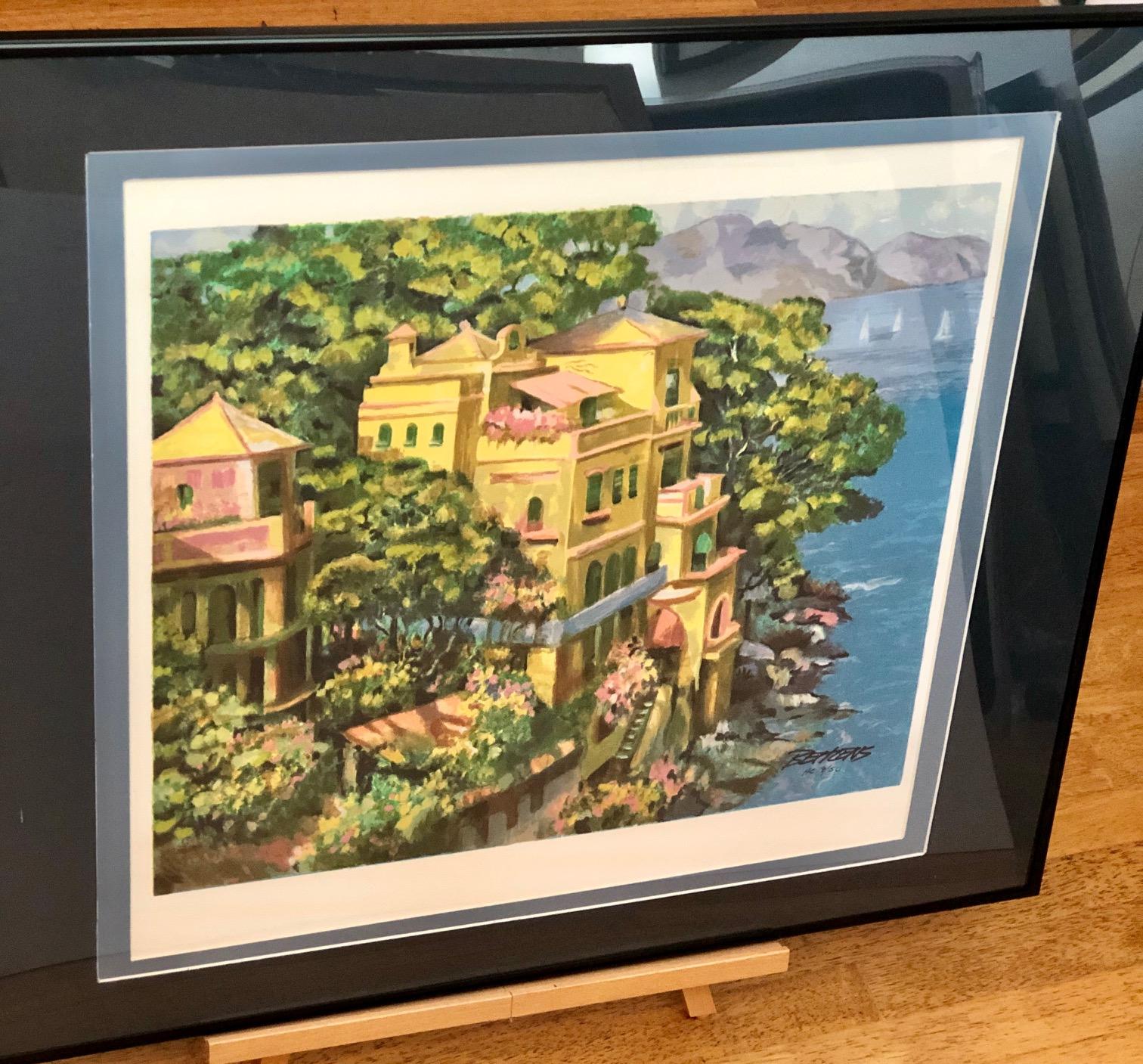 Villa Portofino by  Howard Behrens - Masterpiece Online