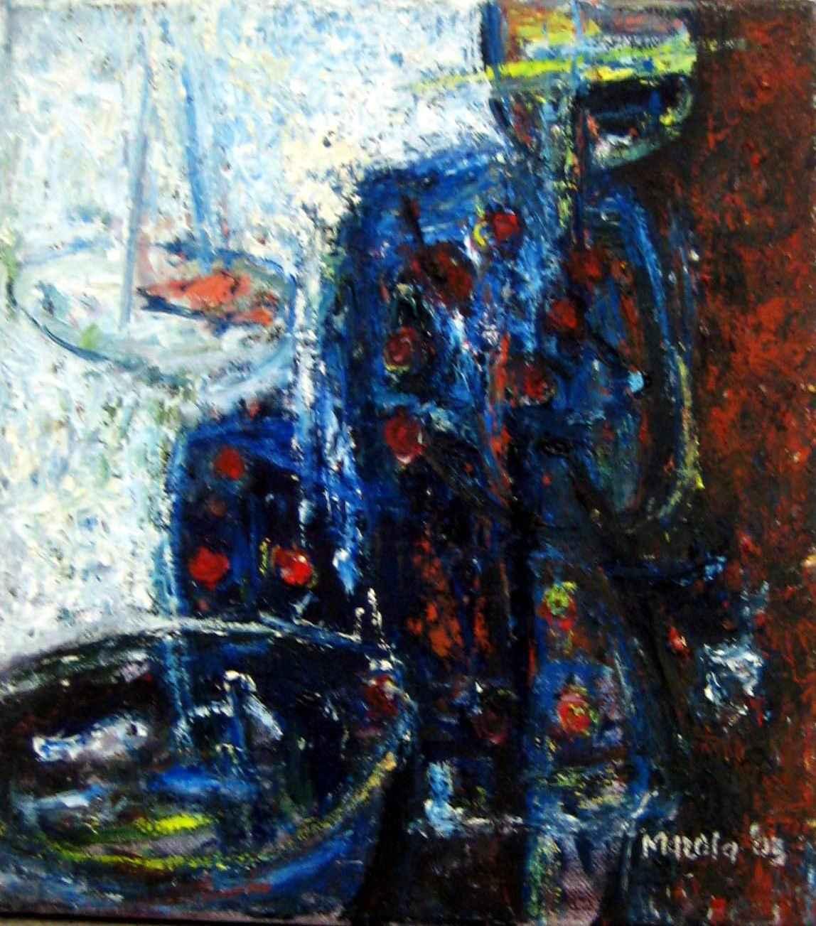 Fishmonger by Mr. Patrick Mazola - Masterpiece Online