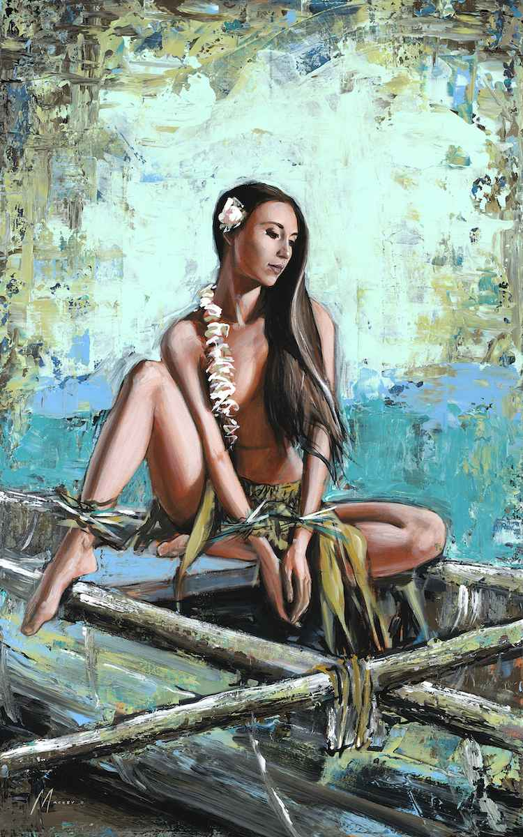 Canoe Wahine by  Shawn Mackey - Masterpiece Online