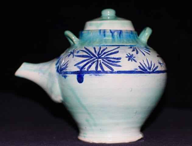 Teapot by  Salyn May Yancey - Masterpiece Online