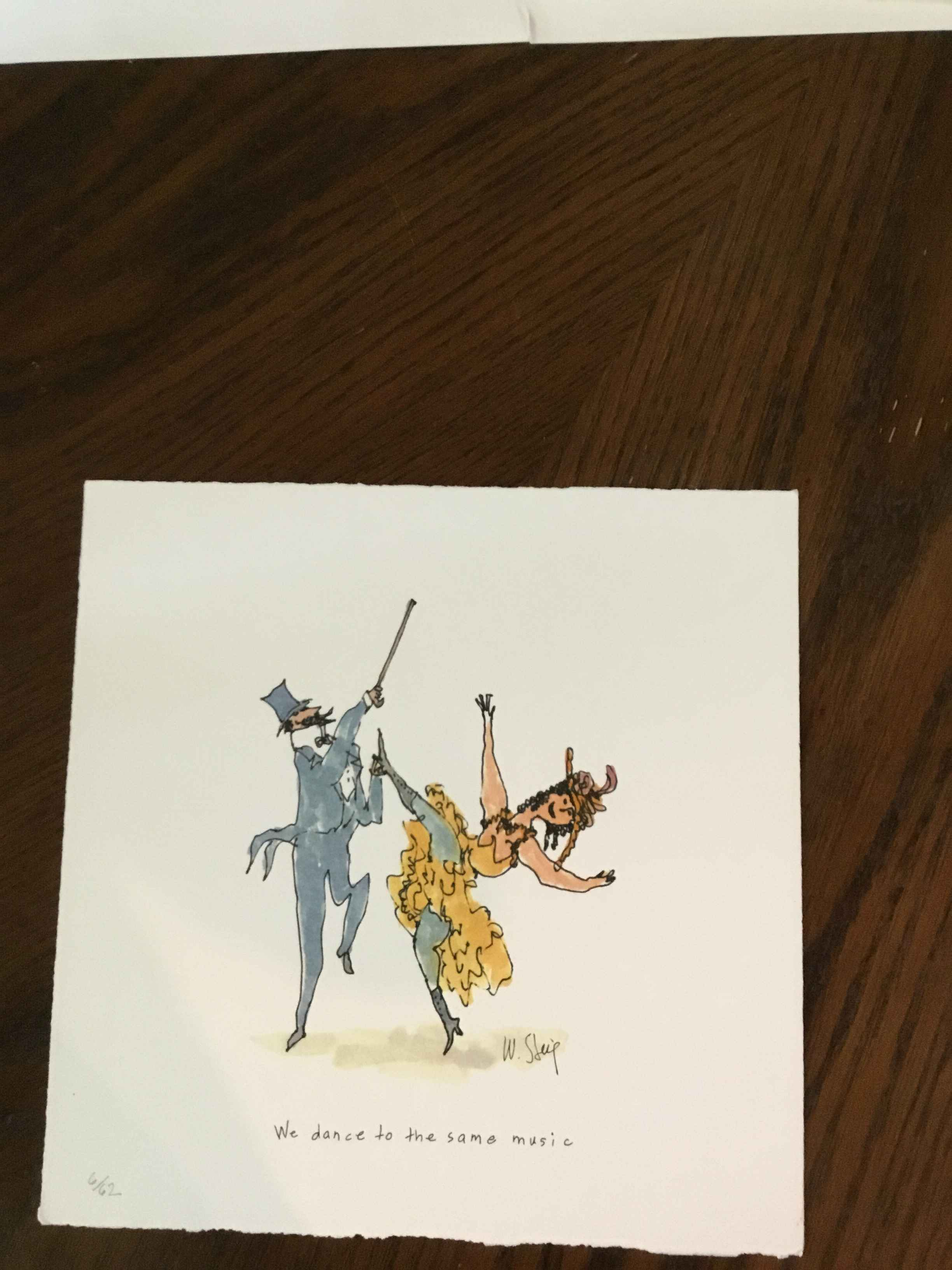 We Dance To The Same ... represented by  by  William Steig Prints