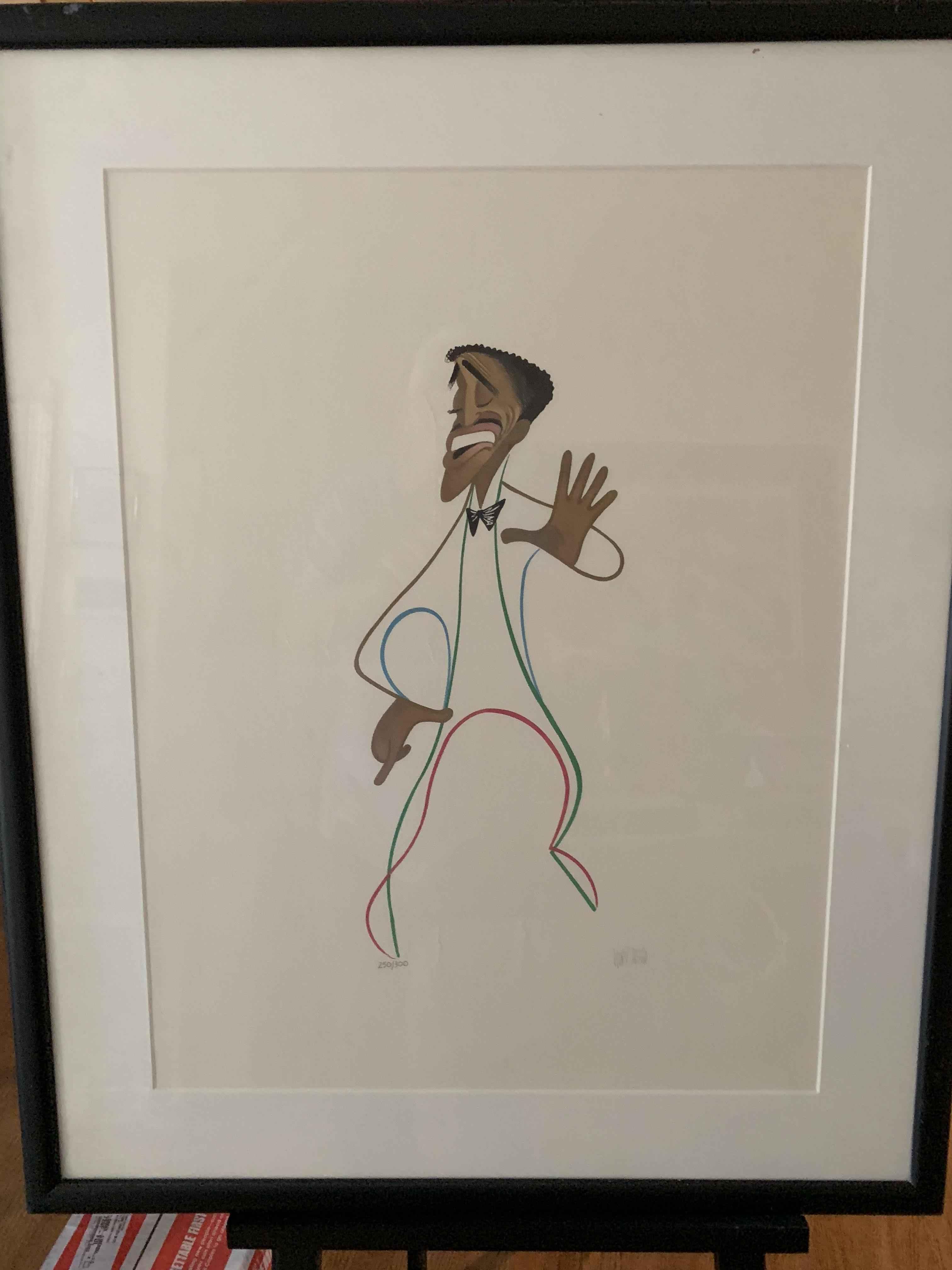 Broadway Sammy (Dav... by  Al Hirschfeld - Masterpiece Online