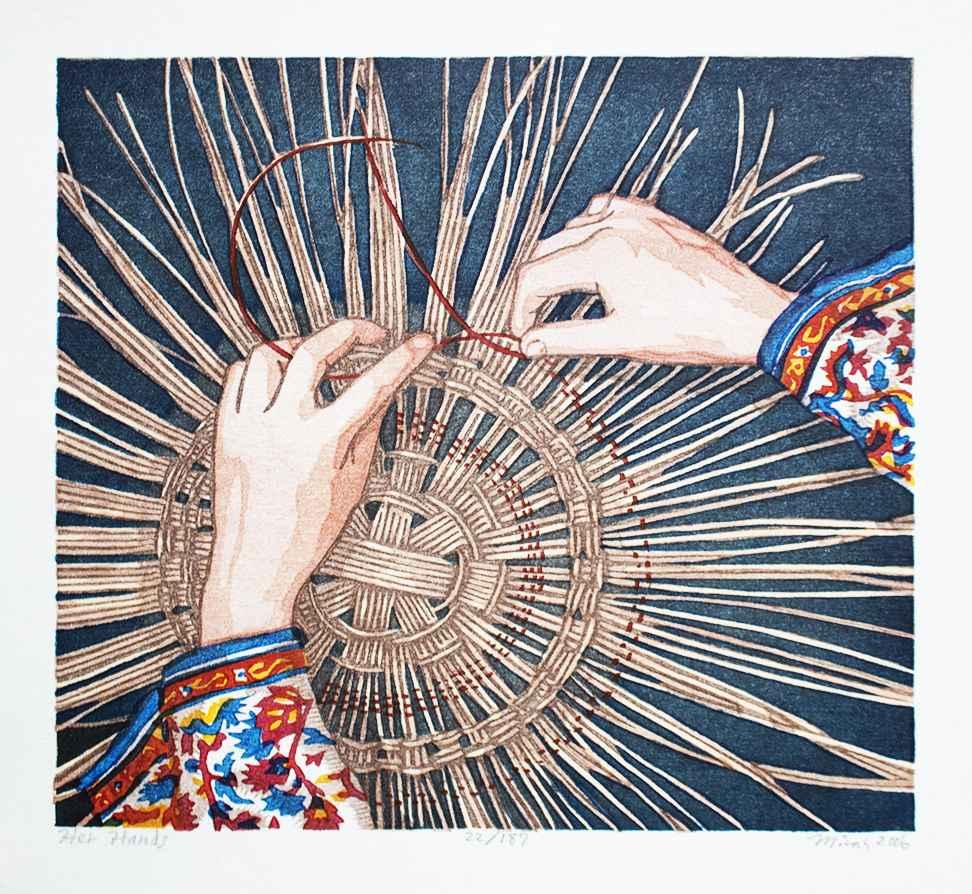 Her Hands by  Micah Schwaberow - Masterpiece Online