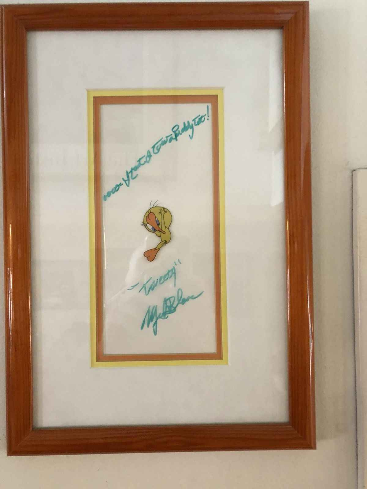 Tweety Bird by  Mel Blanc - Masterpiece Online