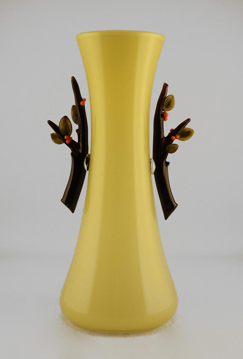 Vase w/Branches & Ora... by  David & Melanie Leppla - Masterpiece Online