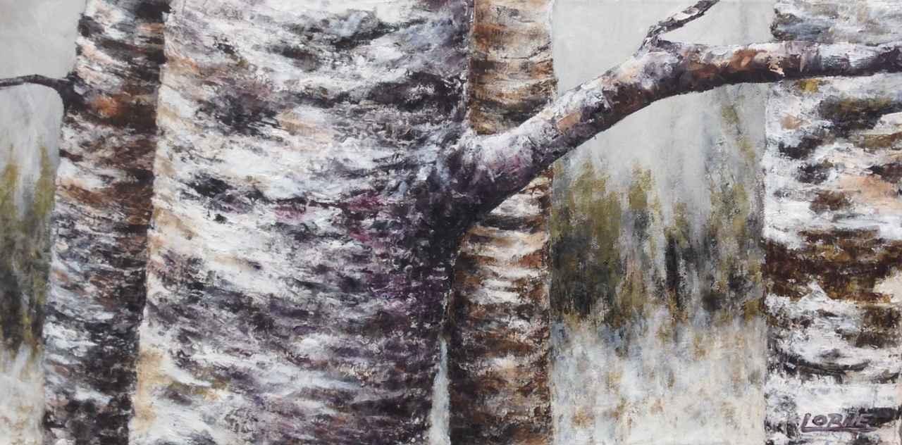 Four Dancing Birches by Mr. Lorne McDermott - Masterpiece Online