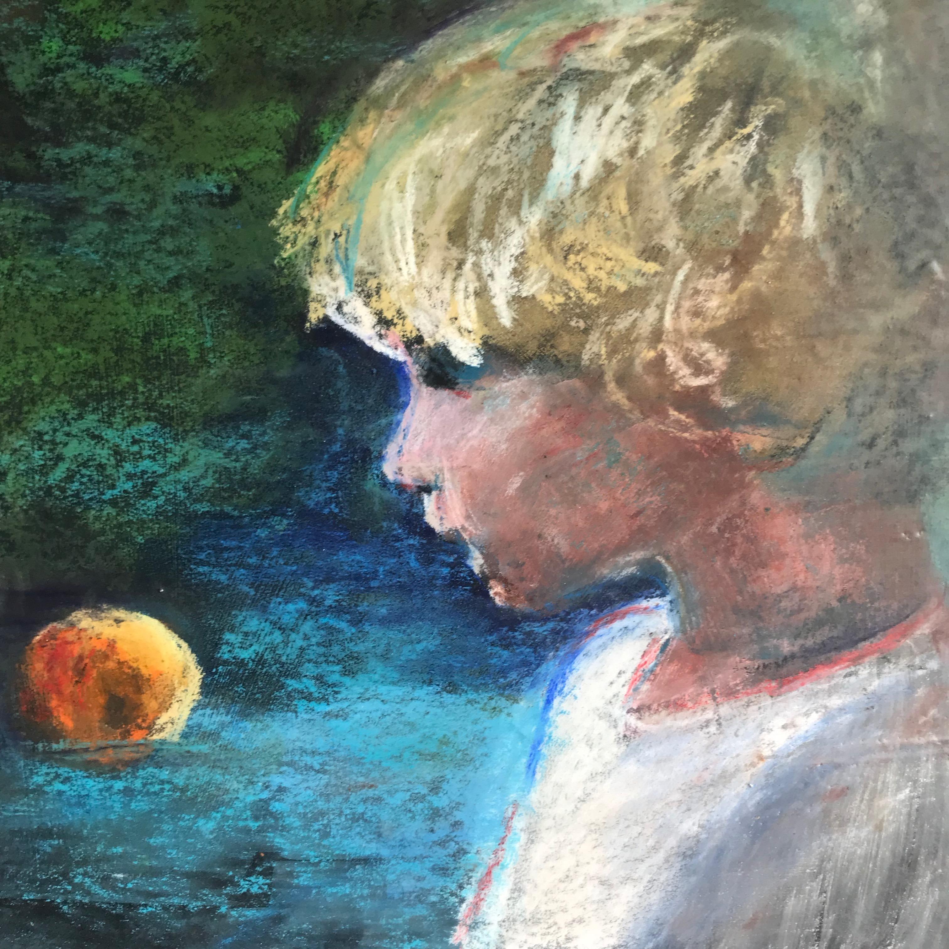 Boy and Orange by Mrs. Heidi Berger - Masterpiece Online