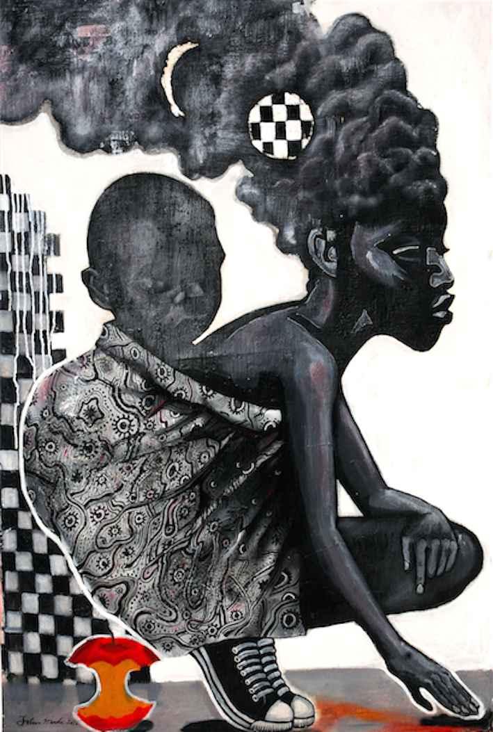 Rebel queen by Mr John Madu - Masterpiece Online