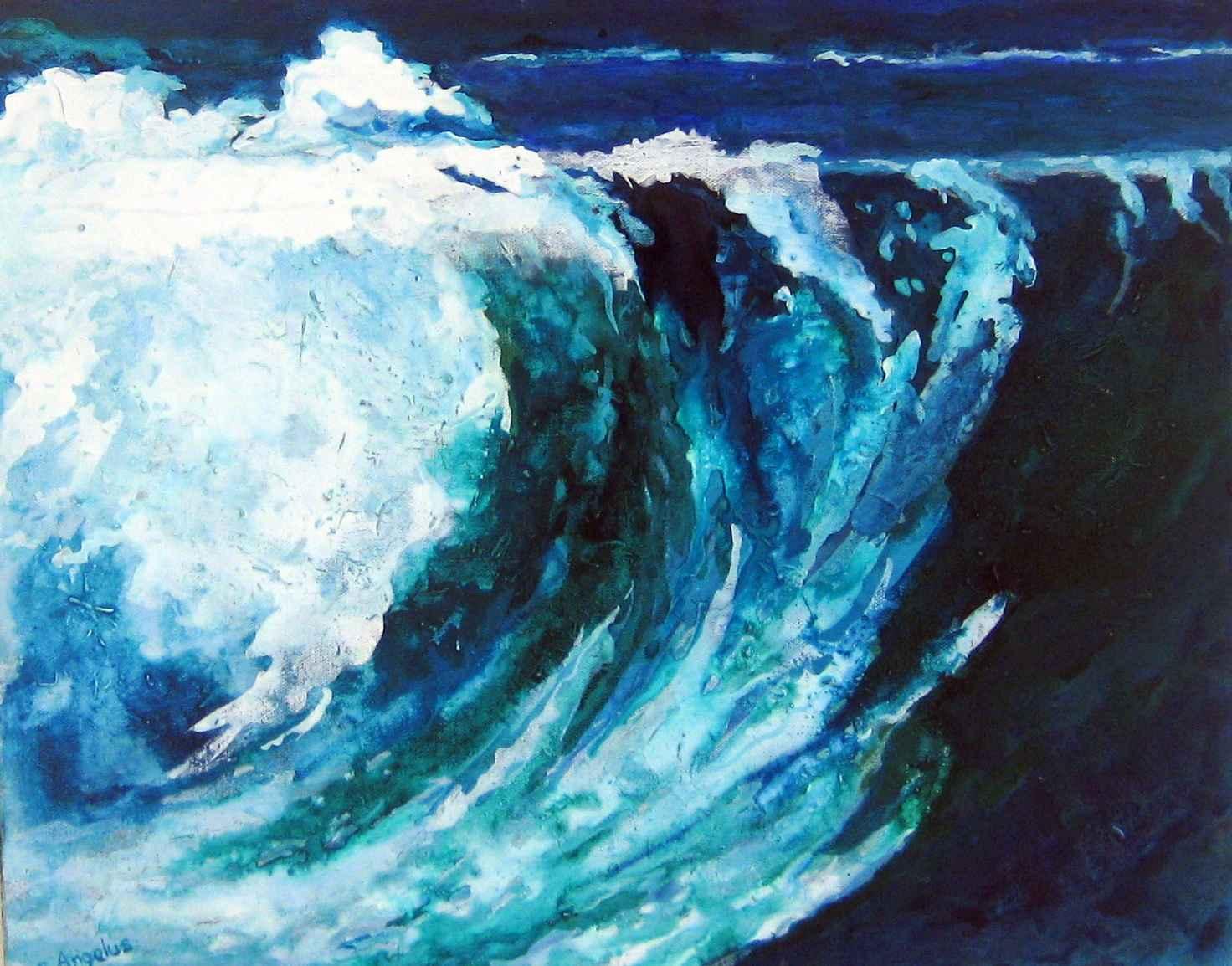 Breaking Wave by Ms Carole Chandler - Masterpiece Online