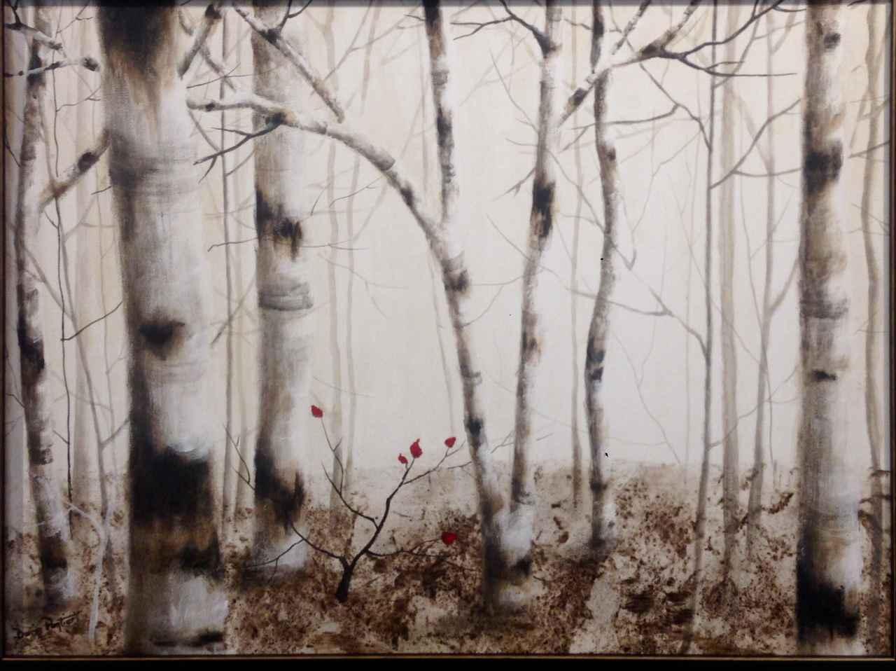 Sepia Birch Forest by  Doris Pontieri - Masterpiece Online