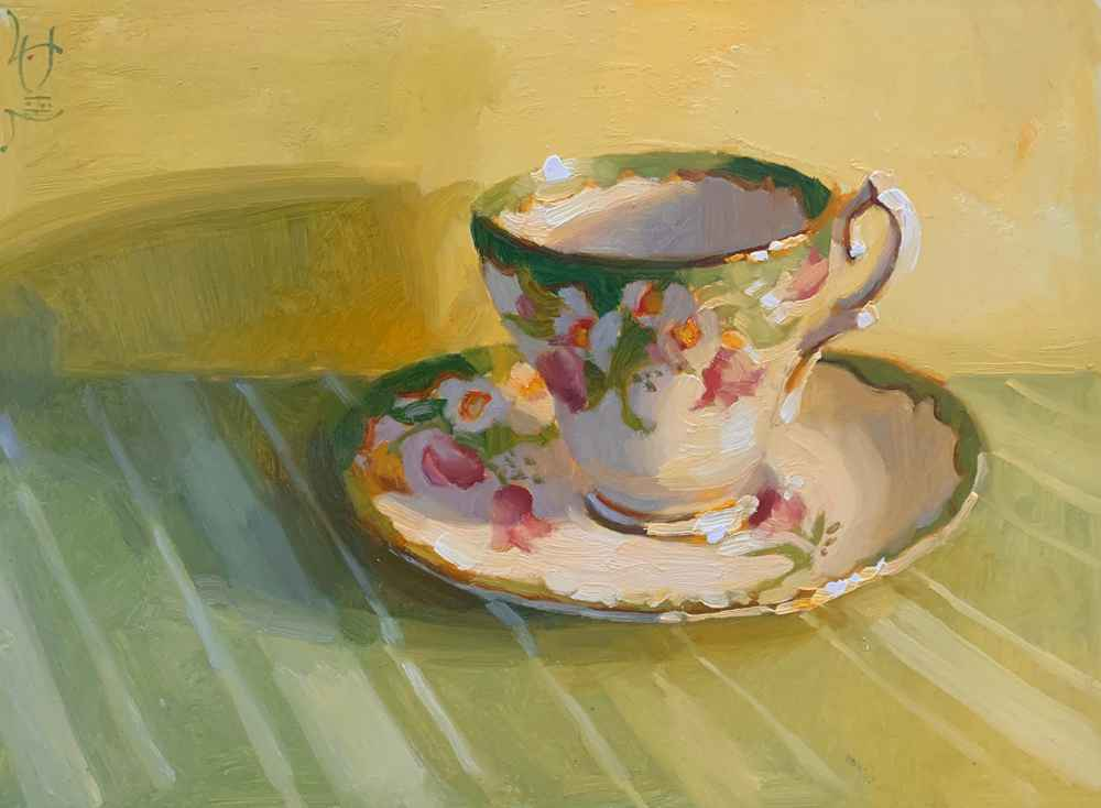 Tea Please  by  Jennifer Diehl