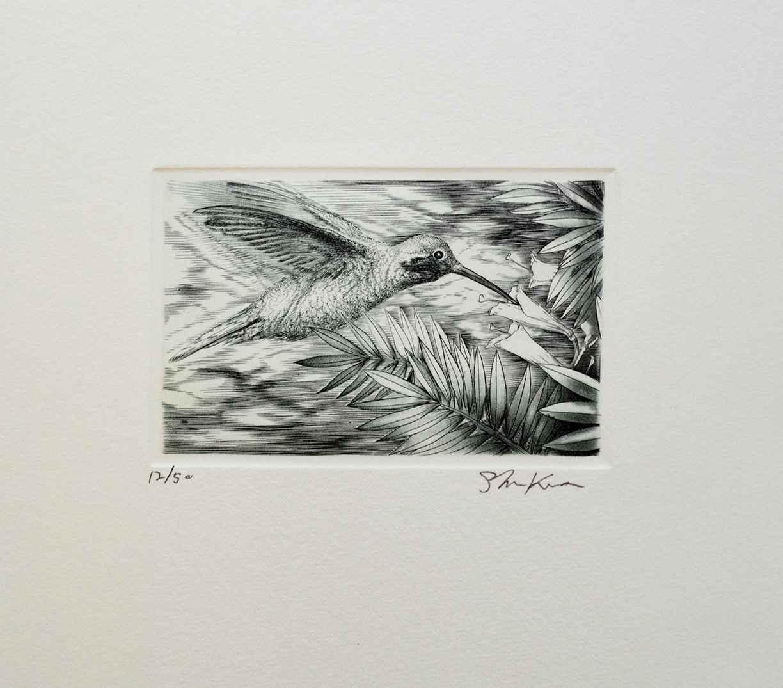 Humming Bird by  Shigeki Kuroda - Masterpiece Online