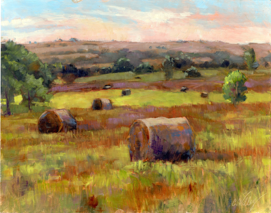 Autumn Hay by  Chris Willey - Masterpiece Online