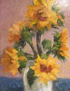 Sunflowers #2 by  Laura Jemison - Masterpiece Online