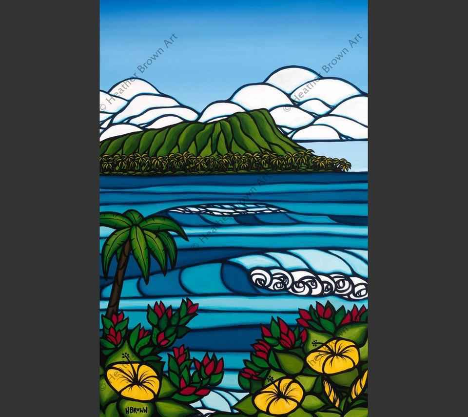 HBDHDPDS Diamond Head... by  Heather Brown - Masterpiece Online