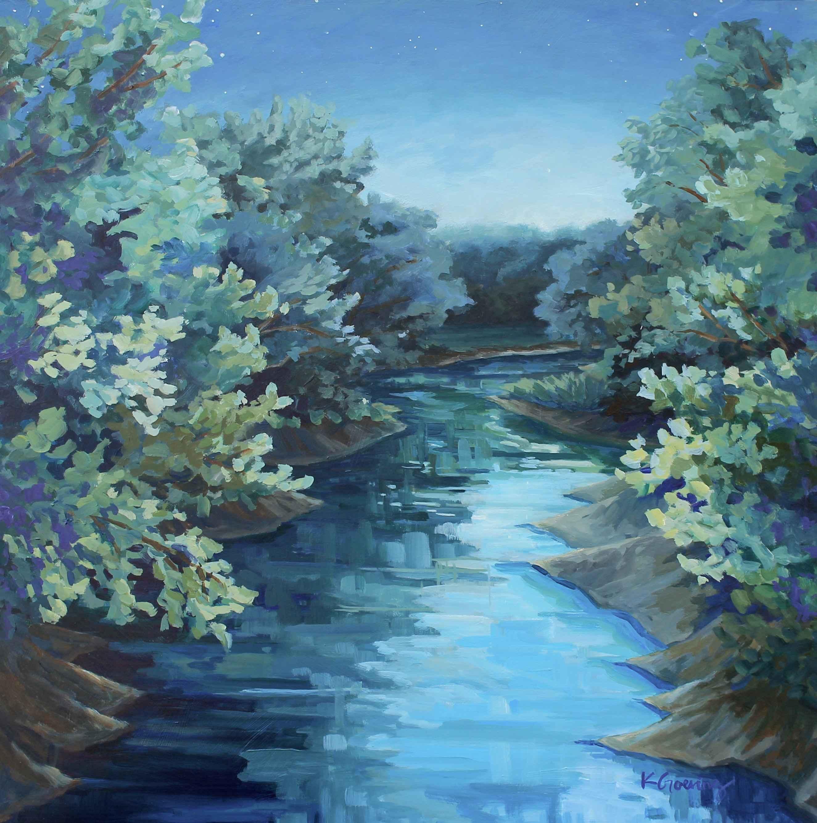 Kettle Creek Night by  Kristin Goering - Masterpiece Online