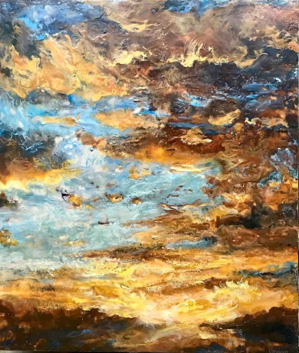 Uplifting III by  Kathy Bradshaw - Masterpiece Online