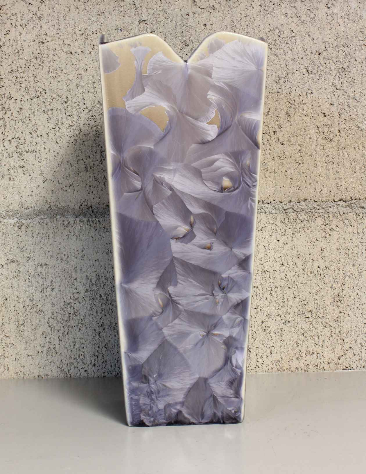 Medium Purple and Tan... by  Duly Mitchell - Masterpiece Online