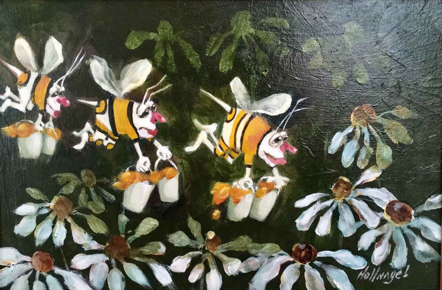 Busy Bees by  Joan Hollnagel - Masterpiece Online