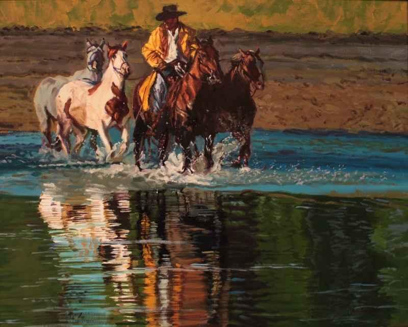 Reflected Horseman  by Mr Glen Edwards